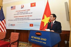 Vietnam, US cooperate in search for soldiers missing during wartime