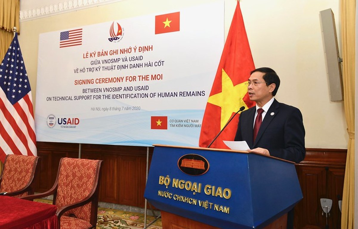 Vietnam Office for Seeking Missing Persons,United States Agency for International Development,USAID,identification of missing soldiers,Vietnam-US relations