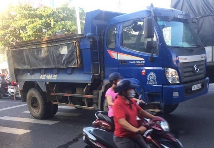 Một phụ nữ bị xe tải cán tử vong trên đường đi làm ở Đà Nẵng