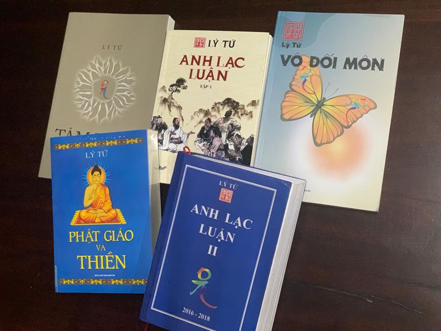 Những cuốn sách phật đạo của tác giả Lý Tứ