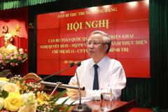 Ông Trần Quốc Vượng: Bảo vệ an ninh quốc gia và an ninh kinh tế