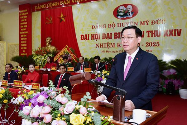 Bí thư Hà Nội Vương Đình Huệ 'đặt hàng' xã Đồng Tâm