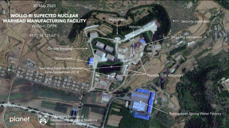 Lộ hoạt động bất thường tại cơ sở nghi chế đầu đạn hạt nhân Triều Tiên