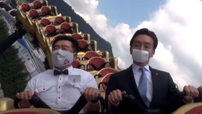 rollercoaster,japan,covid-19,world news
