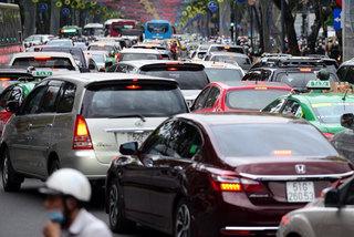 Đề xuất thu phí ôtô vào trung tâm TP.HCM giai đoạn 2021-2025
