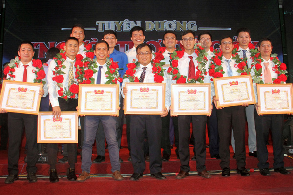 13 gương mặt Dầu khí được tuyên dương 'Người thợ trẻ giỏi' toàn quốc