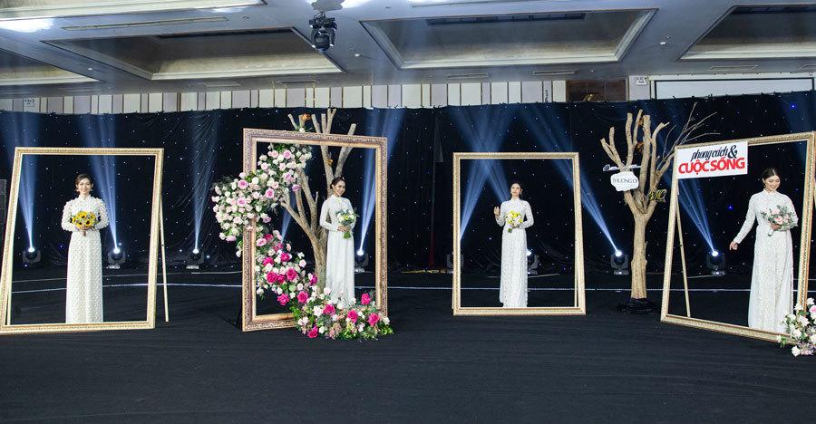 Các mỹ nhân phim truyền hình xinh đẹp trong show 'Dạm ngõ'