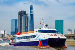 5 tàu cao tốc sẵn sàng vận chuyển thực phẩm từ miền Tây về TP.HCM