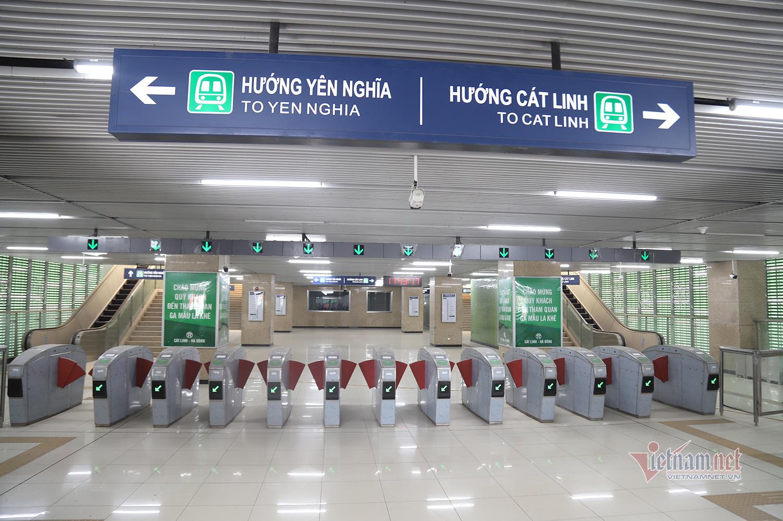 Cuối năm đường sắt Cát Linh - Hà Đông có thể chạy thương mại