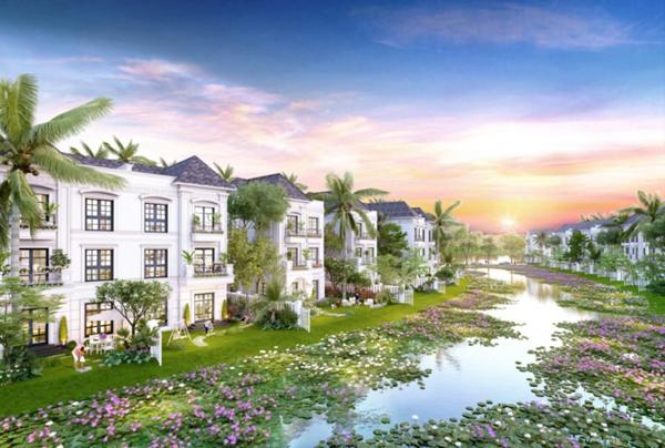 Bất động sản hút khách nhờ 'hy sinh đất vàng' phát triển mảng xanh