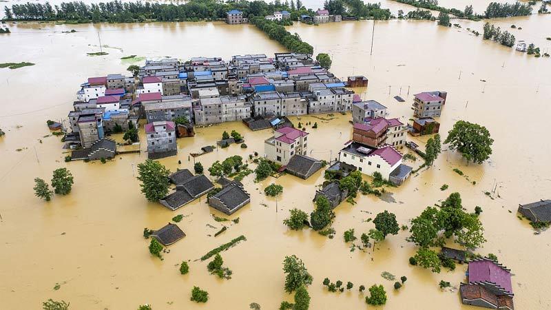 Mưa lụt chuyển tới đông Trung Quốc, tàn phá dọc sông Dương Tử
