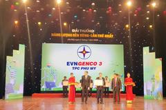 Công ty Nhiệt điện Phú Mỹ nhận giải Năng lượng bền vững 2019