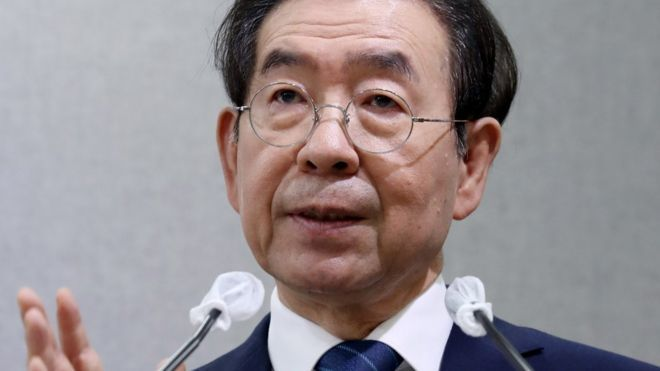 Park Won-soon: Mayor of Seoul found dead after going missing
