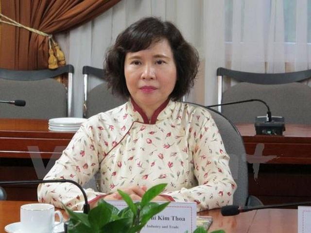 Khởi tố bị can cựu Thứ trưởng Bộ Công Thương Hồ Thị Kim Thoa