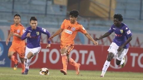 Đà Nẵng 0-0 Hà Nội, SLNA 0-0 Hà Tĩnh (H1)