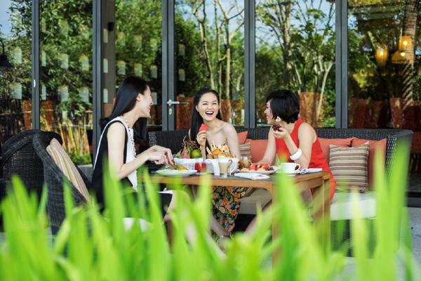 'Sống chậm' cùng bữa sáng Sparkling ở Salinda Resort, Phú Quốc