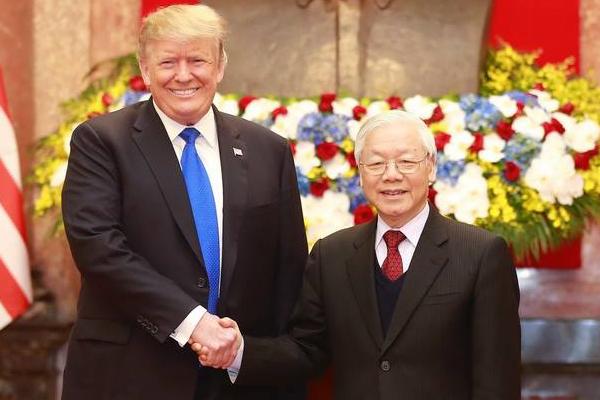Tổng thống Donald Trump: Duy trì cam kết tăng cường quan hệ Việt-Mỹ