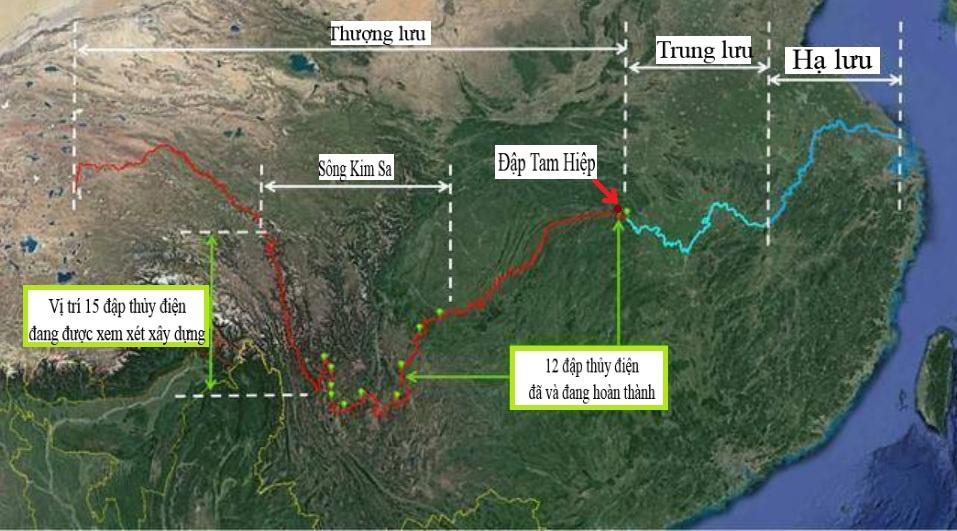 Lý do Trung Quốc không xây đập cỡ Tam Hiệp ở hạ lưu sông Dương Tử