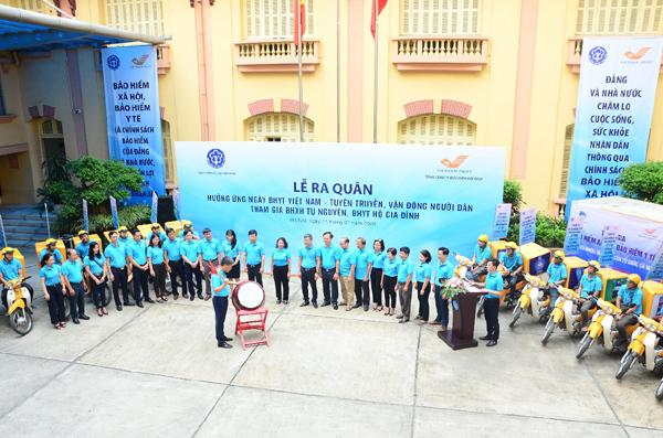 Ngày hội vận động tham gia BHXH, BHYT Việt Nam 2020