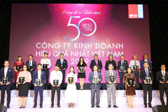 HDBank tiếp tục vào Top 50 Công ty kinh doanh hiệu quả nhất Việt Nam