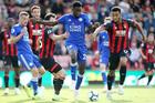 Trực tiếp Bournemouth vs Leicester: Cơ hội bứt lên