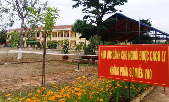 228 công dân trở về từ châu Âu được cách ly tại Quảng Nam