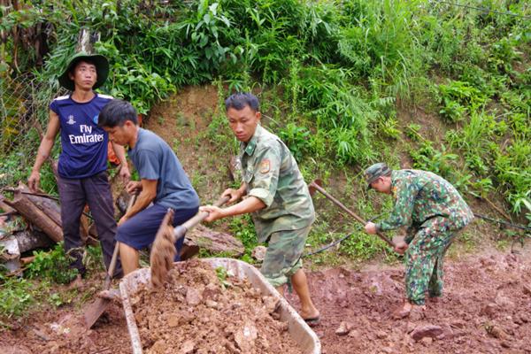 XĐGN: Cải tạo hơn 90 căn nhà cho đồng bào dân tộc ở huyện Nậm Pồ