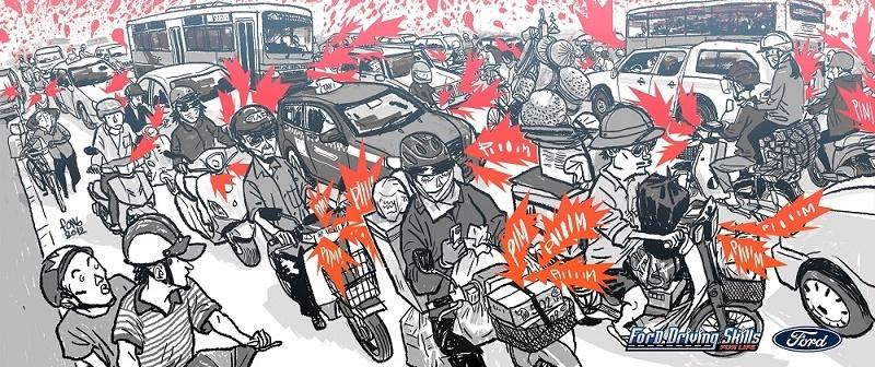 9 thói quen xấu khi lái xe máy sẽ bị phạt nặng
