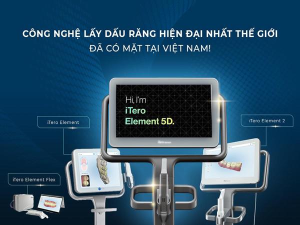 iTero 5D - công nghệ chỉnh nha thời 4.0