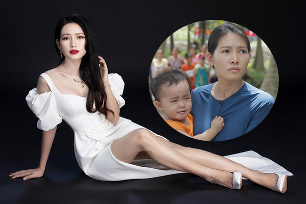 Sau vai khắc khổ, Văn Phượng 'Mẹ ghẻ' lột xác sành điệu trong phim mới