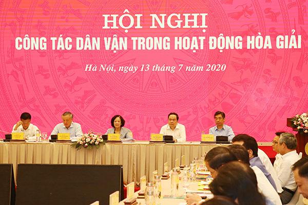 Chánh án Nguyễn Hòa Bình: Hòa giải thành công phải có tấm lòng nhân ái