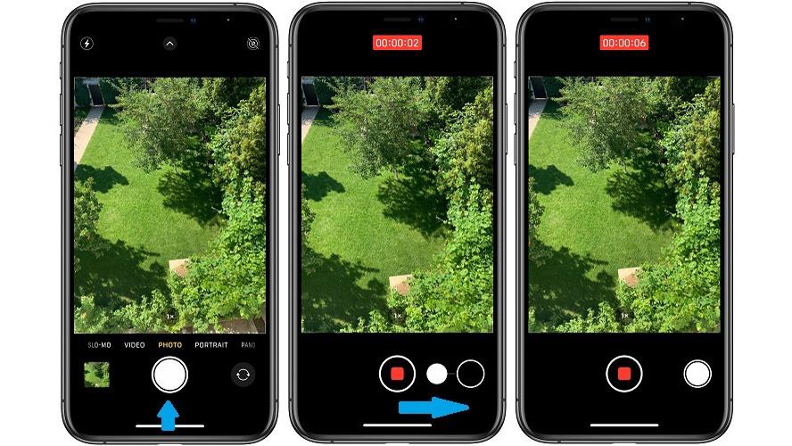 Cách chụp ảnh liên tục bằng tính năng QuickTake trên iPhone XS, XS Max và XR