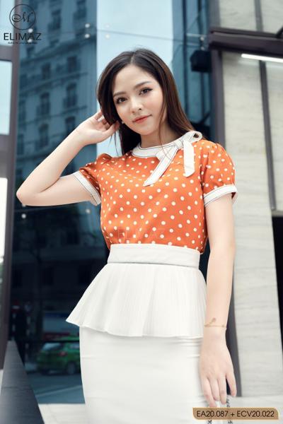 Sắc màu tự nhiên trong BST thời trang công sở của Elimaz Fashion