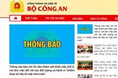 Khám xét khẩn cấp nơi ở và làm việc hai cán bộ UBND thành phố Hà Nội