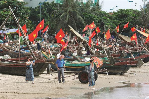 Thanh Hoa,Sam Son,Doc Cuoc Temple,Sam Son Beach