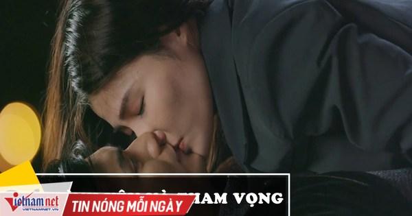 'Tình yêu và tham vọng' tập 34, Linh bất ngờ hôn Minh