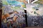 Biến vải vụn thành tác phẩm nghệ thuật có giá hàng nghìn USD