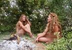Chị em sinh đôi không quần áo, vượt qua 21 ngày sinh tồn trong rừng