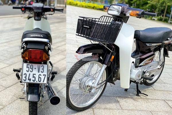 Honda Dream Việt 12 năm tuổi biển số VIP giá hơn 200 triệu đồng
