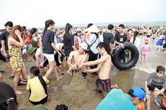 Cán bộ biên phòng và một du khách Hà Nội chết đuối ở biển Sầm Sơn