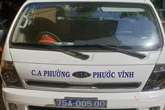 Hàng loạt xe ô tô của công an phường ở Huế không có tem đăng kiểm