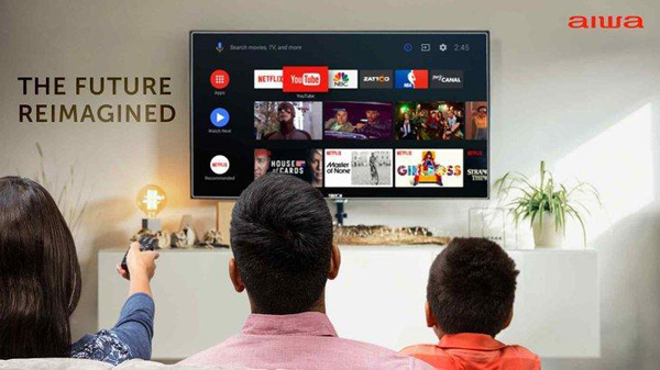 Smart TV thương hiệu Nhật chào sân ấn tượng tại Việt Nam
