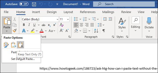 Phím tắt giúp loại bỏ định dạng khi Copy trên mọi ứng dụng Windows và macOS