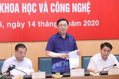 Ông Vương Đình Huệ: Đưa Hà Nội thành trung tâm khoa học công nghệ