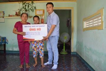 Trao hơn 50 triệu đồng cho 2 gia đình có hoàn cảnh éo le ở Quảng Ngãi
