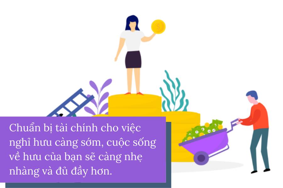 Ở Việt Nam, làm cách này để thoải mái nghỉ hưu mà không phải lo nghĩ