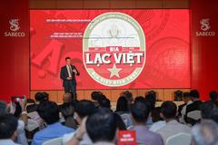 Bia Lạc Việt - phiên bản đặc biệt kỷ niệm 145 năm Sabeco