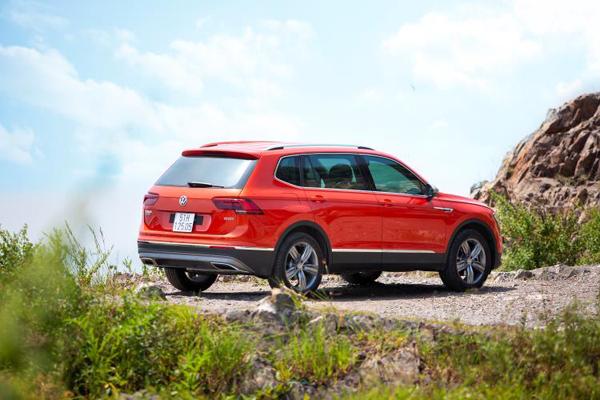 Giảm 50% phí trước bạ cho xe nhập khẩu VW Tiguan Luxury