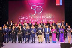 Vietcombank - Top 10 công ty kinh doanh hiệu quả nhất Việt Nam 2019