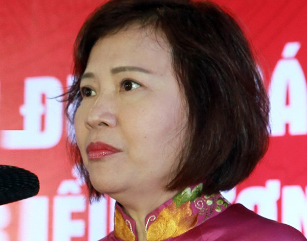 Former deputy minister Ho Thi Kim Thoa wanted for state assets mismanagement